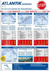 Infopost April 2019 ATLANTIK Seereisen